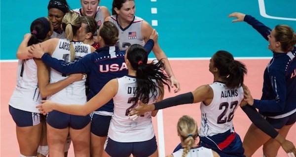 Volley, gli Usa sono i primi finalisti: Brasile battuto 3-0