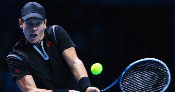 Tennis, Tomas Berdych piega Marin Cilic e torna in corsa per le semifinali