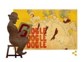 google doodle, google doodle per toulouse Lautrec, Henri de Toulouse-Lautrec, doodle google toulouse lautrec, doodle google di oggi, doodle google di oggi 24 novembre