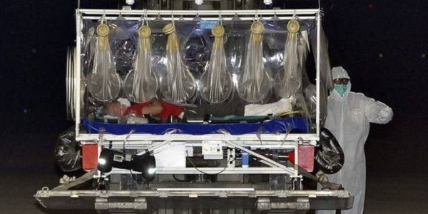 Il medico malato di ebola in arrivo a Pratica di Mare