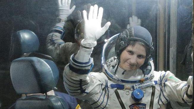 Samantha Cristoforetti torna sulla Terra   Il rientro dell'astronauta italiana