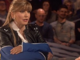 Milly.Carlucci.Invasioni.Barbariche.INCIDENTE.BRACCIA.ROTTE