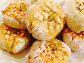 la ricetta dei dolcetti alla mandorle