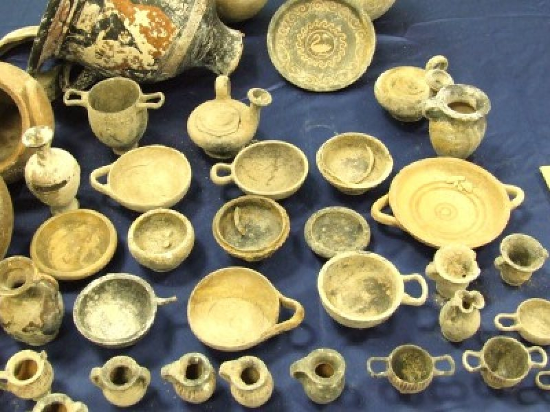 reperti cirò marina, reperti di crotone, tesoro archeologico crotone, tesoro Crotone