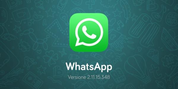 WhatsApp si aggiorna per gli iPhone: arriva il tasto per le chiamate