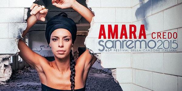 """Sanremo 2015, Amara – """"Credo"""": il testo della canzone"""