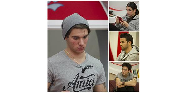 Amici 14, puntata 11 febbraio: Gabriele sfida Luca, Silvia ed Esteban