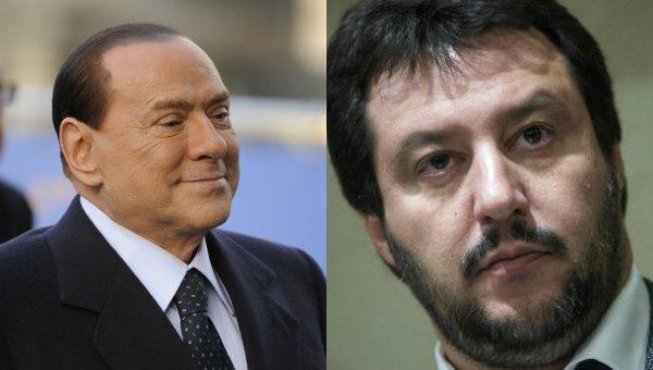 Berlusconi 'apre' al Pd ma Salvini lo stoppa