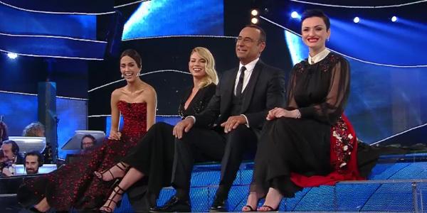 Al Festival di Sanremo, comici poco divertenti | Grignani e Britti tra i meno votati della serata