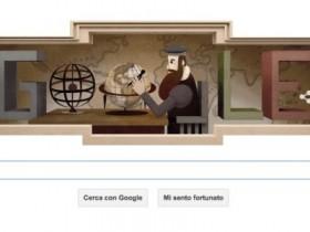 Google doodle gerardo marcatore cartografo