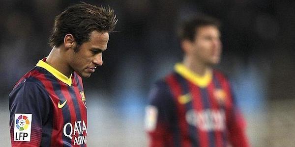 """Il Barça rischia l'esclusione dalla Liga per """"colpa"""" di Neymar"""