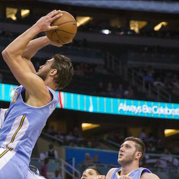 "Basket, Nba: Gallinari stende Curry <u><b><font color=""#343A90"">VIDEO</font></u></b> Golden State cade a Denver"