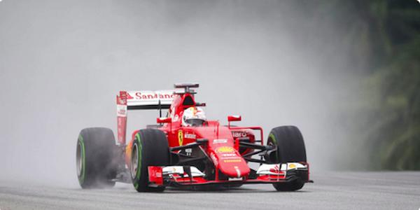 La Ferrari vola con Vettel: trionfo in Malesia. Stracciati Hamilton (2°) e Rosberg (3°)