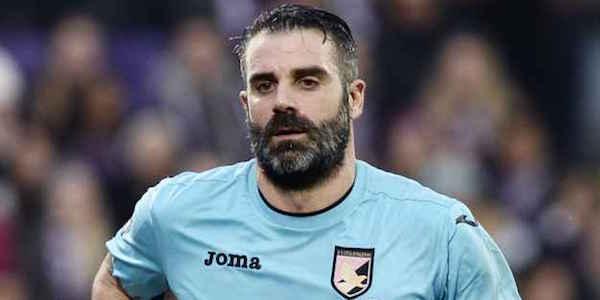 Palermo, Sorrentino recupera dall'infortunio: con l'Inter ci sarà