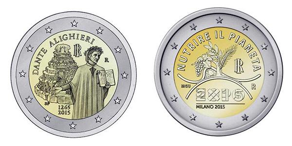 Monete da 2 Euro Valore Commemorative da 2 Euro a