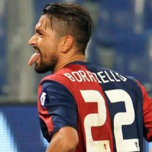 """Roma, senti Borriello: """"Io meglio di Totti e Batistuta, al Genoa mi sento a casa"""""""