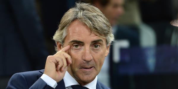 """Inter, Mancini: """"La Roma è più forte di noi. Icardi non convocato"""""""