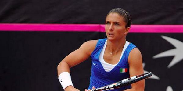 Tennis, Fed Cup: le convocate dell'Italia per la Slovacchia. Assente Roberta Vinci