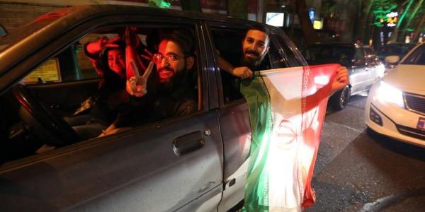 Accordo sul nucleare iraniano   La festa nelle strade di Teheran