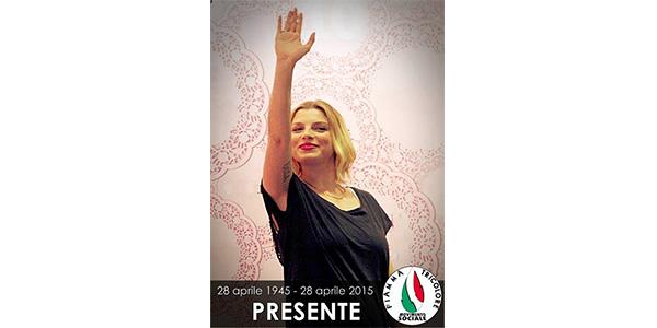 """Emma Marrone e il falso saluto fascista: """"Mi dissocio da tanto orrore"""""""