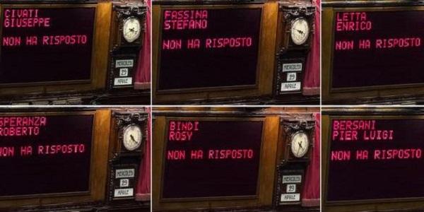 Italicum, Renzi incassa la terza fiducia  | Le opposizioni non partecipano
