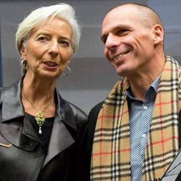 varoufakis, lagarde, debiti grecia, varoufakis ad infinitum, debiti grecia fmi