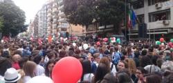 17.58 via notarbartolo, albero falcone palermo, manifestazione albero falcone, manifestazione palermo, Palermo manifestazione