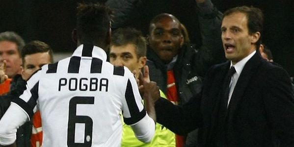 """Juve, Allegri avvisa Cagliari e Real: """"Pogba è tornato, giocherà"""""""