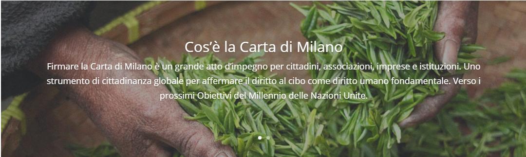 Cos'è la Carta di Milano