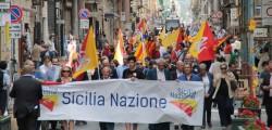 sicilia nazione, gaetano armao, gaetano costa, anniversario autonomia siciliana, manifestazione sicilia nazione,