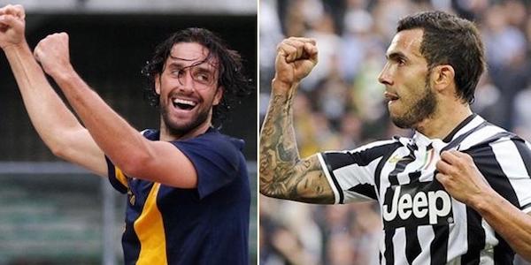 Le formazioni di Verona – Juventus. Toni-Tevez: sfida tra super bomber