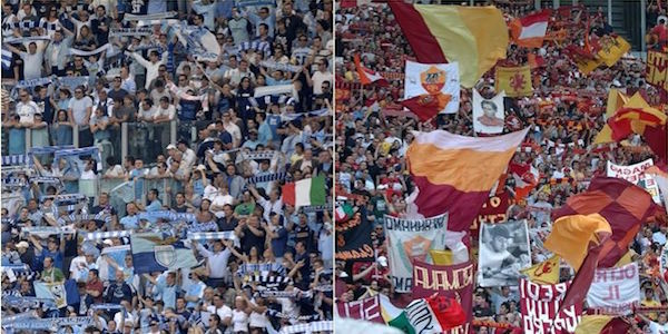 Roma, via le barriere dall'Olimpico: per il derby di Coppa Italia, curve già esaurite