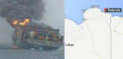 libia nave turca attaccata al largo di tobruk