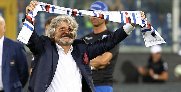 """Samp, l'Uefa accoglie la difesa: giocherà in Europa League. Ferrero: """"Ne ero certo"""""""