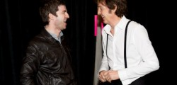 Paul McCartney e Noel Gallagher