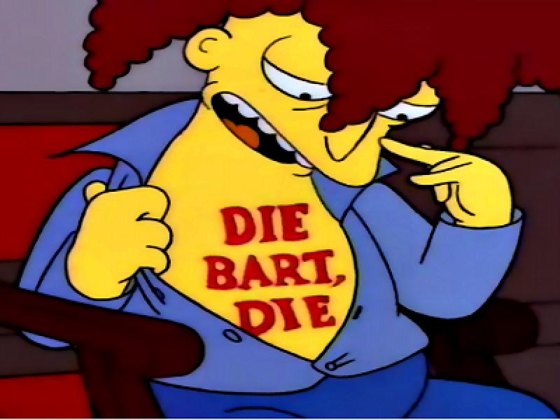 Simpson telespalla bob riuscirà a uccidere qualcuno