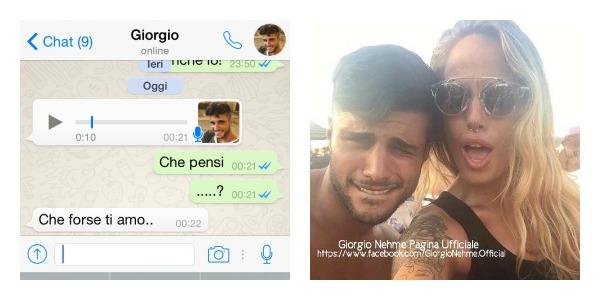 """Temptation Island 2, Aurora lascia Gianmarco e chatta con Giorgio: """"Forse ti amo…"""" /VIDEO"""