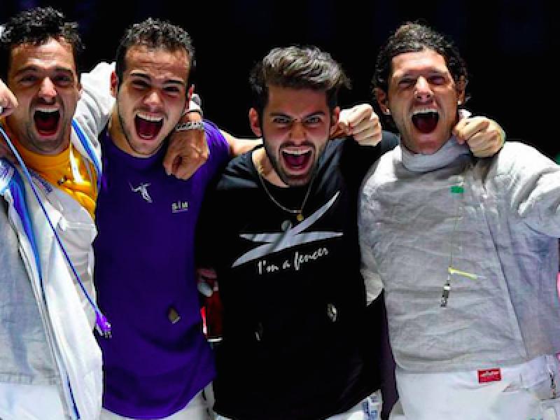 Europei Scherma, sciabola maschile a squadre