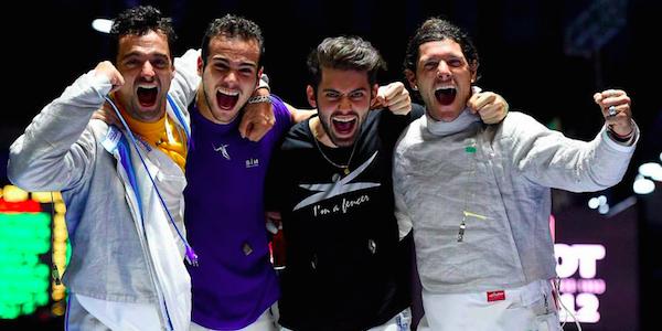 Scherma, capolavoro Italia: oro nella sciabola maschile a squadre