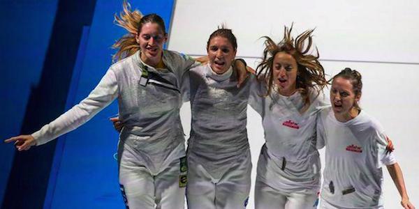 Scherma, altra gioia per l'Italia: oro nel fioretto femminile a squadre