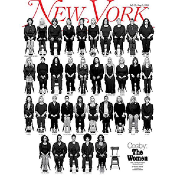 New York Magazine, in copertina le 35 donne vittime di Bill Cosby