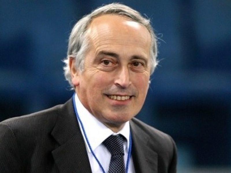 Giancarlo Abete Tavecchio FIGC
