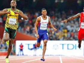 200 metri, Atletica, Atletica leggera, bolt, Bolt medaglia d'oro nei 200 metri, Bolt vince i 200 metri, Justin Gatlin, Mondiali Atletica, risultati atletica, risultati mondiali atletica, Usain Bolt