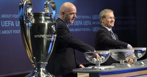 Champions, gironi di ferro per Juve e Roma. Bianconeri col City, i giallorossi pescano il Barça