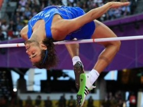 Atletica, Derek Drouin, Eberstadt, Gianmarco Tamberi, Marco Fassinotti, Salto in alto, Tamberi record, Tamberi record azzurro, Tamberi record italiano, Tamberi record italiano salto in lungo, Tamberi record salto in alto, Tamberi record salto in alto italiano, Tamberi record salto in lungo, Tamberi salto in lungo