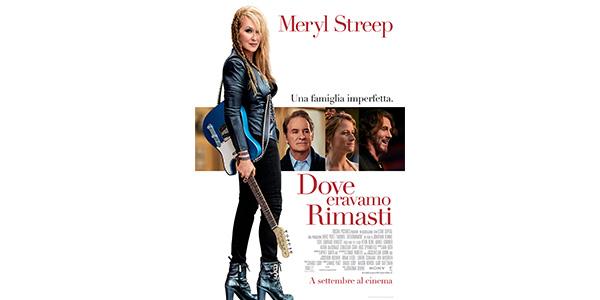 """Meryl Streep al cinema in versione rock star e mamma in """"Dove eravamo rimasti"""" /TRAILER"""