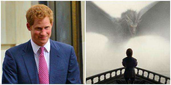 Game of Thrones 6, un trono di spade per il Principe Harry?