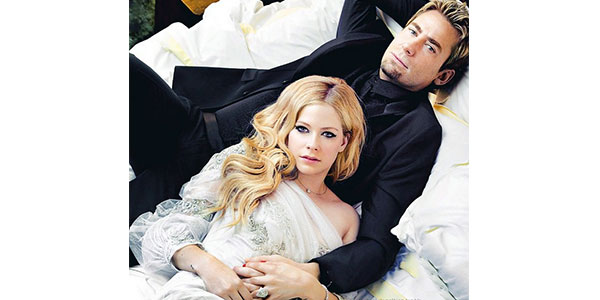 Avril lavigne e chad kroeger si separano dopo due anni di for Permesso di soggiorno dopo matrimonio