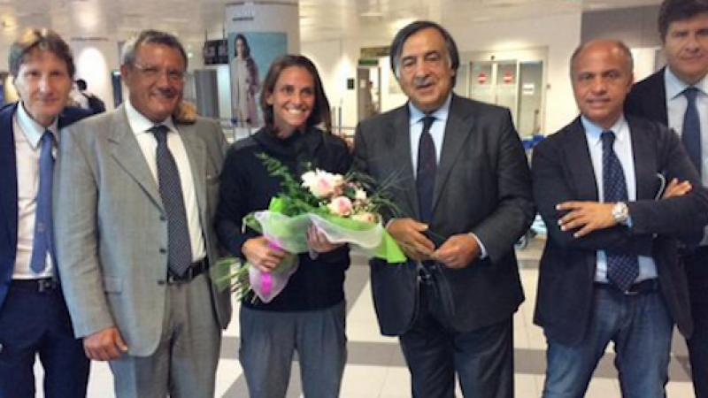 """Palermo riabbraccia la Vinci: """"Grazie, che accoglienza!"""""""