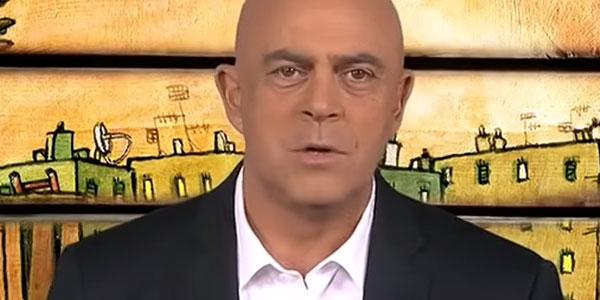 La copertina di Maurizio Crozza a DiMartedì del 29 settembre 2015 /VIDEO